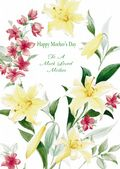 Mother's Day Card-Lilies Card